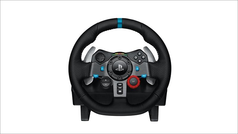 lenkrad logitech g29 racing wheel. Black Bedroom Furniture Sets. Home Design Ideas