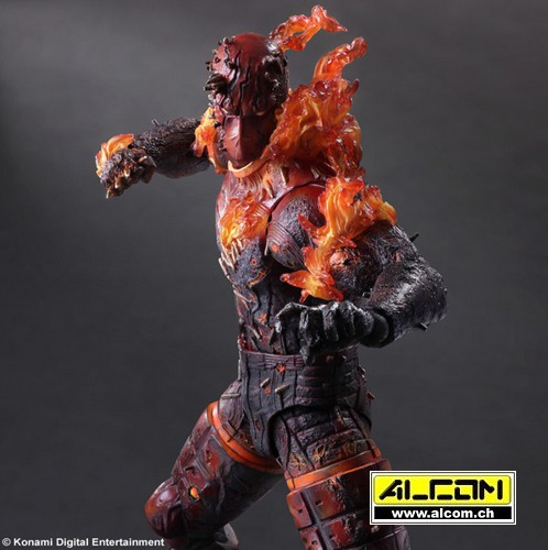 Figur: Metal Gear Solid 5 - The Phantom Pain - Man on Fire (29 cm)