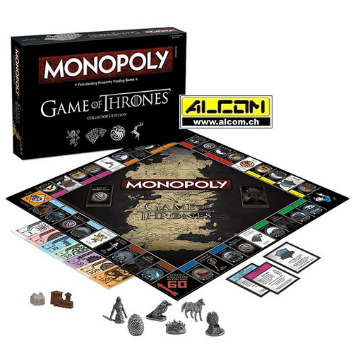 Brettspiel: Monopoly - Game of Thrones Collectors Edition