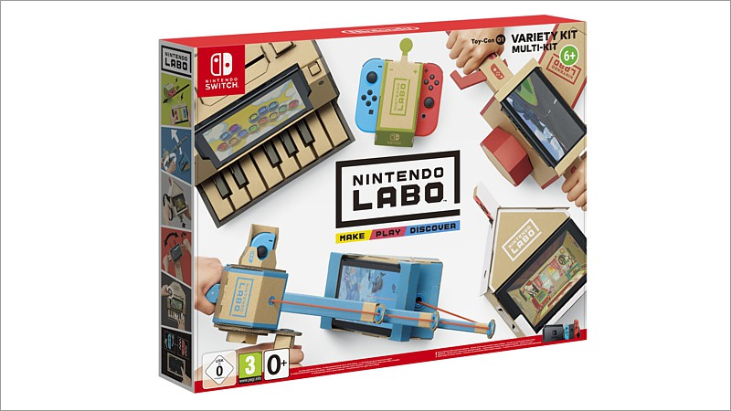 Nintendo Labo: Toy-Con 01 Multi-Set (Switch)