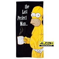 Badetuch: Die Simpsons - The Last Perfect Man (75 x 150 cm)