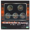 Pins: The King of Fighters 10th Anniversary (5 Stk.)