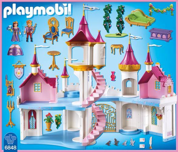 PLAYMOBIL Princess: Prinzessinnenschloss (6848 ...