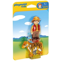 PLAYMOBIL 1-2-3: Wildhüter mit Tiger (6976)