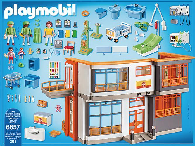 Playmobil City Life Kinderklinik Mit Einrichtung 6657