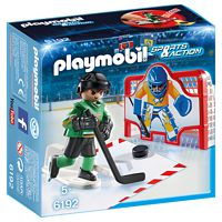 PLAYMOBIL Sports&Action: Eishockey-Tortraining (6192)