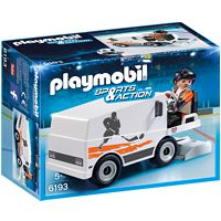 PLAYMOBIL Sports&Action: Eisbearbeitungs-Maschine (6193)