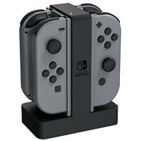 Ladestation Nintendo Switch für 4 Joy-Cons (Joy-Con Charging Power Dock) (Switch)