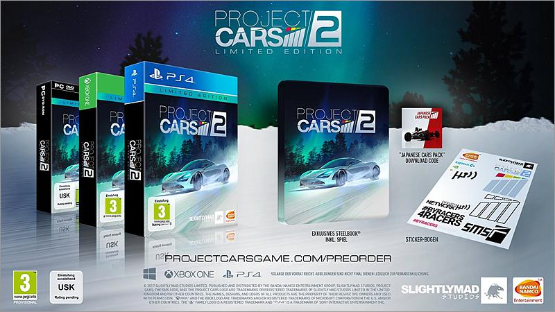 Project Cars 2 - Limited Edition (PC-Spiel)