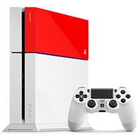 Cover Playstation 4 - Red (Playstation 4)