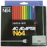 AC Adapter f�r Nintendo 64 (100-245V Stromeingang)