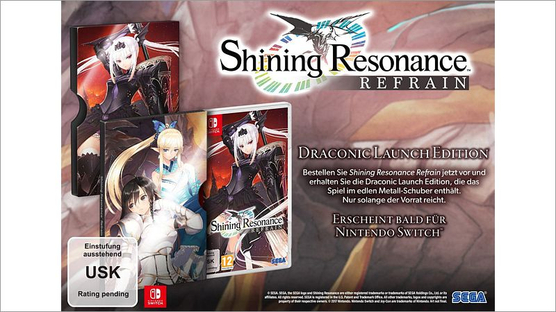 Shining Resonance Refrain - Dragonic Launch Edition (Switch)