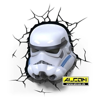 3D LED-Leuchte: Star Wars - Stormtrooper
