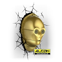 3D LED-Leuchte: Star Wars - C-3PO