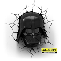 3D LED-Leuchte: Star Wars - Darth Vader