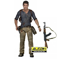 Figur: Uncharted 4 - Nathan Drake (18 cm) - NECA