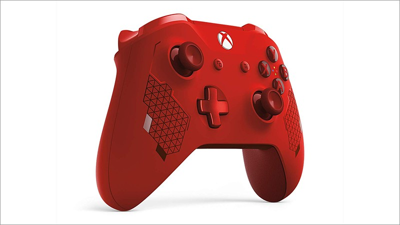 Controller wireless, Sport Red - Special Edition (Xbox One)