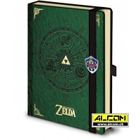 Notizbuch: The Legend of Zelda - Triforce (Format A5)