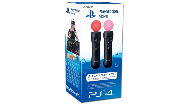 Controller Move Motion - Twin Pack (Playstation VR) (Playstation 4)