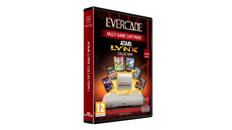 Evercade Cartridge 11 - Atari Lynx Collection 1 (17 Games)