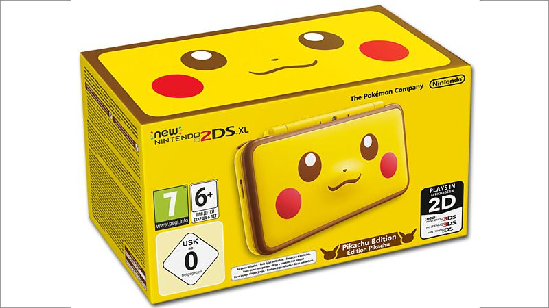 New Nintendo 2DS XL Pikachu Edition (gelb) (Nintendo 3DS)