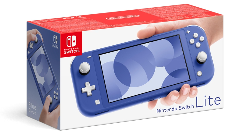 Nintendo Switch Lite: Blau (Switch)