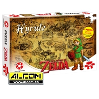 Puzzle: The Legend of Zelda - Hyrule Field (500 Teile)