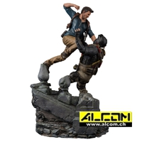 Figur: Uncharted 4 - Nathan Drake Diorame (51 cm) - Sony