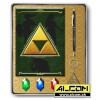Schreibwarenset: The Legend of Zelda - Triforce