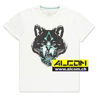 T-Shirt: Assassins Creed - Valhalla Wolf
