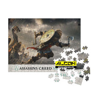 Puzzle: Assassins Creed Valhalla - Fortress Assault (1000 Teile)