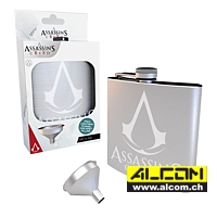 Flachmann: Assassins Creed - Logo (Stahl, 0.17 Liter)