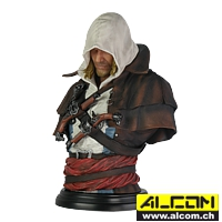 Büste: Assassins Creed Legacy Collection - Edward Kenway (19 cm)