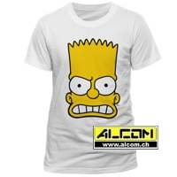T-Shirt: Die Simpsons - Bart Face