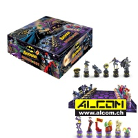 Brettspiel: Schach - Batman, Dark Knight vs Joker