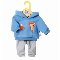 Baby Born Bekleidung: Sport Outfit blau (Dolly Moda)