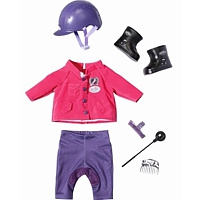 Baby Born Bekleidung: Deluxe Reiter Outfit