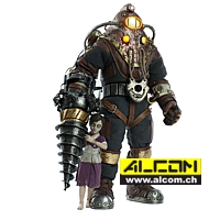 Figur: BioShock - Subject Delta & Little Sister (33 cm) ThreeZero