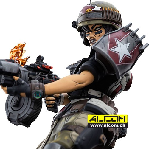 Figur: Borderlands 3 - Moze (22 cm) Weta Collectibles