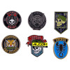Ansteck-Buttons: Call of Duty Black Ops Cold War - 6er Pack