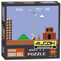 Puzzle: Super Mario Bros. World 1-1 (550 Teile)