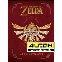 Artbook: The Legend of Zelda - Artifacts (komplett englisch, 416 Seiten)