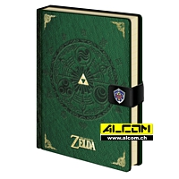 Notizbuch: The Legend of Zelda - Triforce New Version (Format A5)