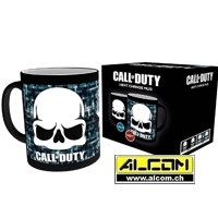 Tasse: Call of Duty - Skull (mit Thermoeffekt)