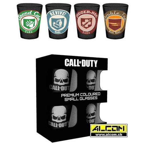 Schnapsgläser: Call of Duty, 4er-Pack
