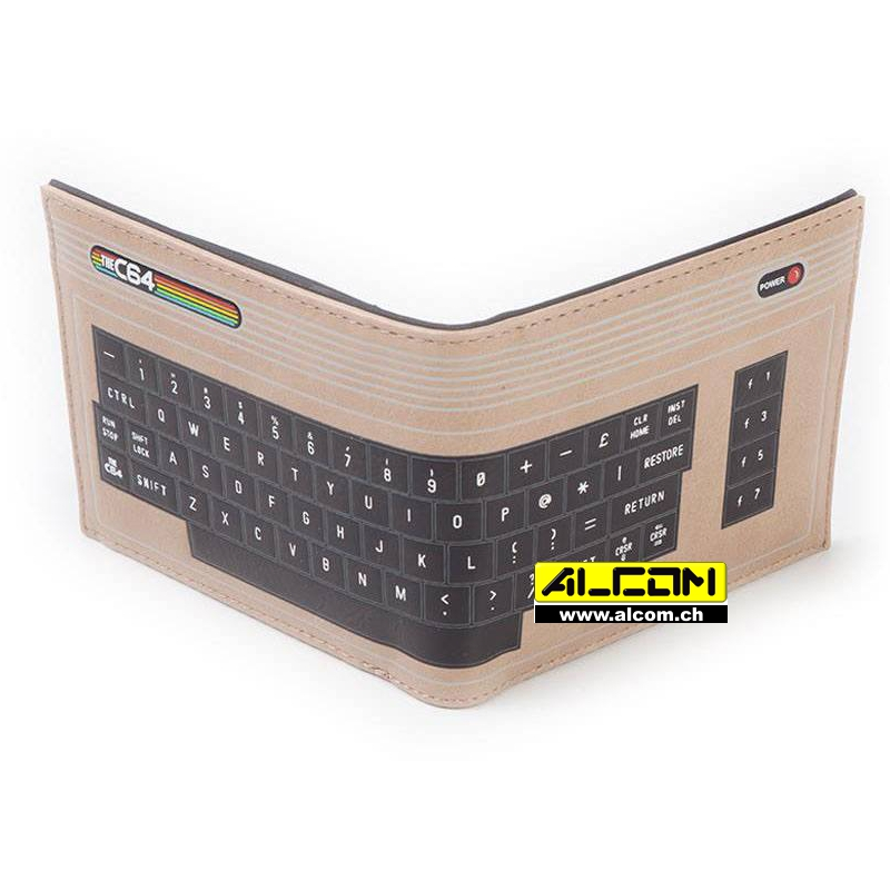 Geldbeutel: Commodore 64 Keyboard