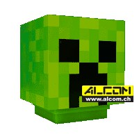 Lampe: Minecraft - Creeper (11 x 11 cm, Batteriebetrieb)
