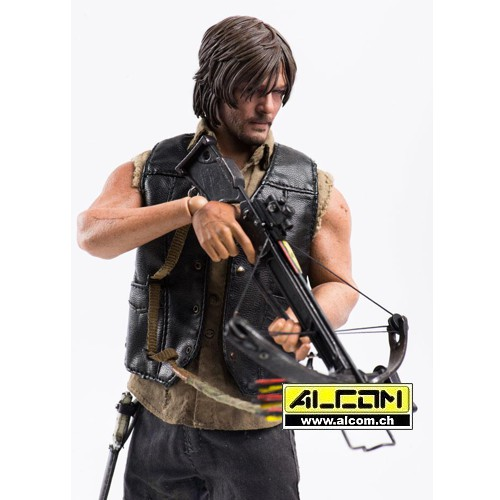 Figur: The Walking Dead - Daryl 1/6 (30 cm) ThreeZero