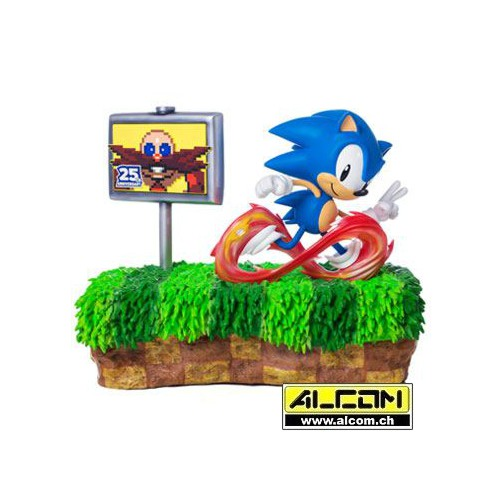 Figur: Sonic the Hedgehog Diorama 25th Anniversary (33 cm) First4Figures