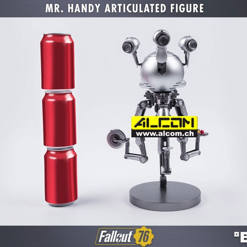 Figur: Fallout 76 - Mister Handy (30 cm) Gaming Heads